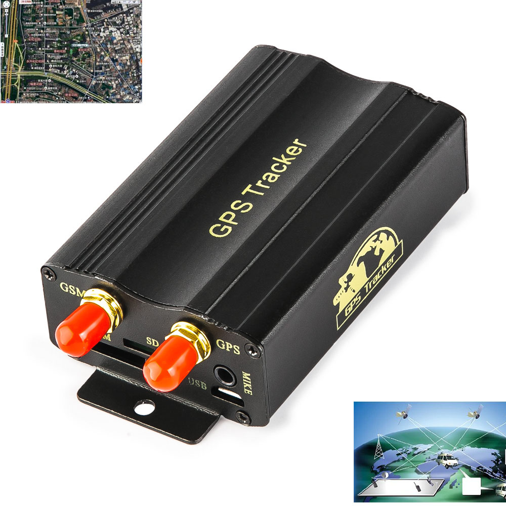 Real Time SMS GSM GPRS Tracker G-Fence Alarm Realtime Vehicle Locator Location Tracking Device for Auto Car Motorcycle