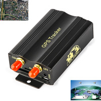 Real Time SMS GSM GPRS Tracker G Fence Alarm Realtime Vehicle Locator Location Tracking Device For