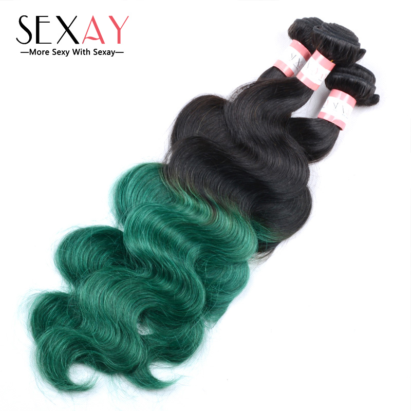 8a best brazilian body wave ombre hair two tone 1bgreen human 8a best brazilian body wave ombre hair two tone 1bgreen human hair extensions 3pcs lot mink green brazilian ombre hair bundles in hair weaves from hair pmusecretfo Gallery