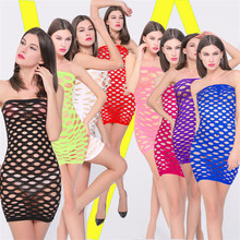Porn Sexy Lingerie Hot Seamless Mesh Baby Doll Dress Nightdress Sexy Costumes Erotic Lingerie For Women Fishnet Sex Underwear