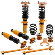 Shock Absorber Struts Coilover Kit Para 2000-2005 BMW 318i/320i/330i E46 Amortecedor Ajustável