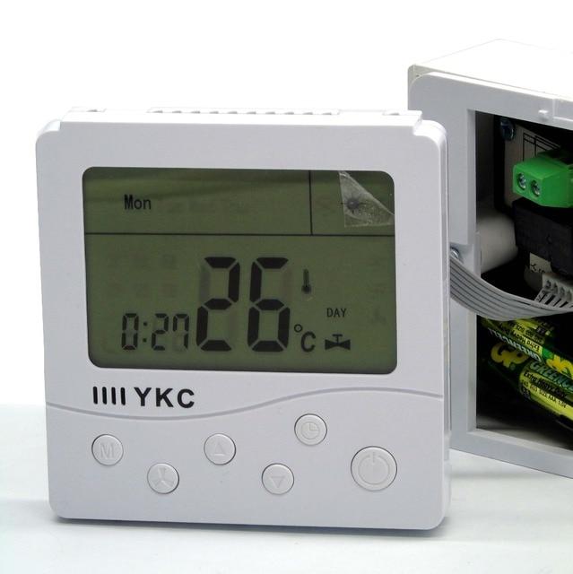 Russische Englisch Bedienung manuelle Digitale LCD Display Heizung ...
