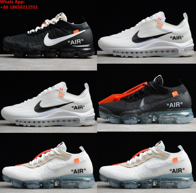 b2903352f6a8c New 2018 Air Vapormax Plus Men s Women Max Offwhite OFF White Sports  Sneakers Outdoor Vapor Max 97 Running shoes 36-45