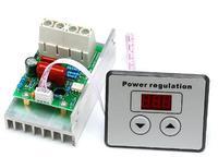 AC 220V 10000W 80A Digital Control SCR Electronic Voltage Regulator 10 220V Speed Control Dimmer Thermostat