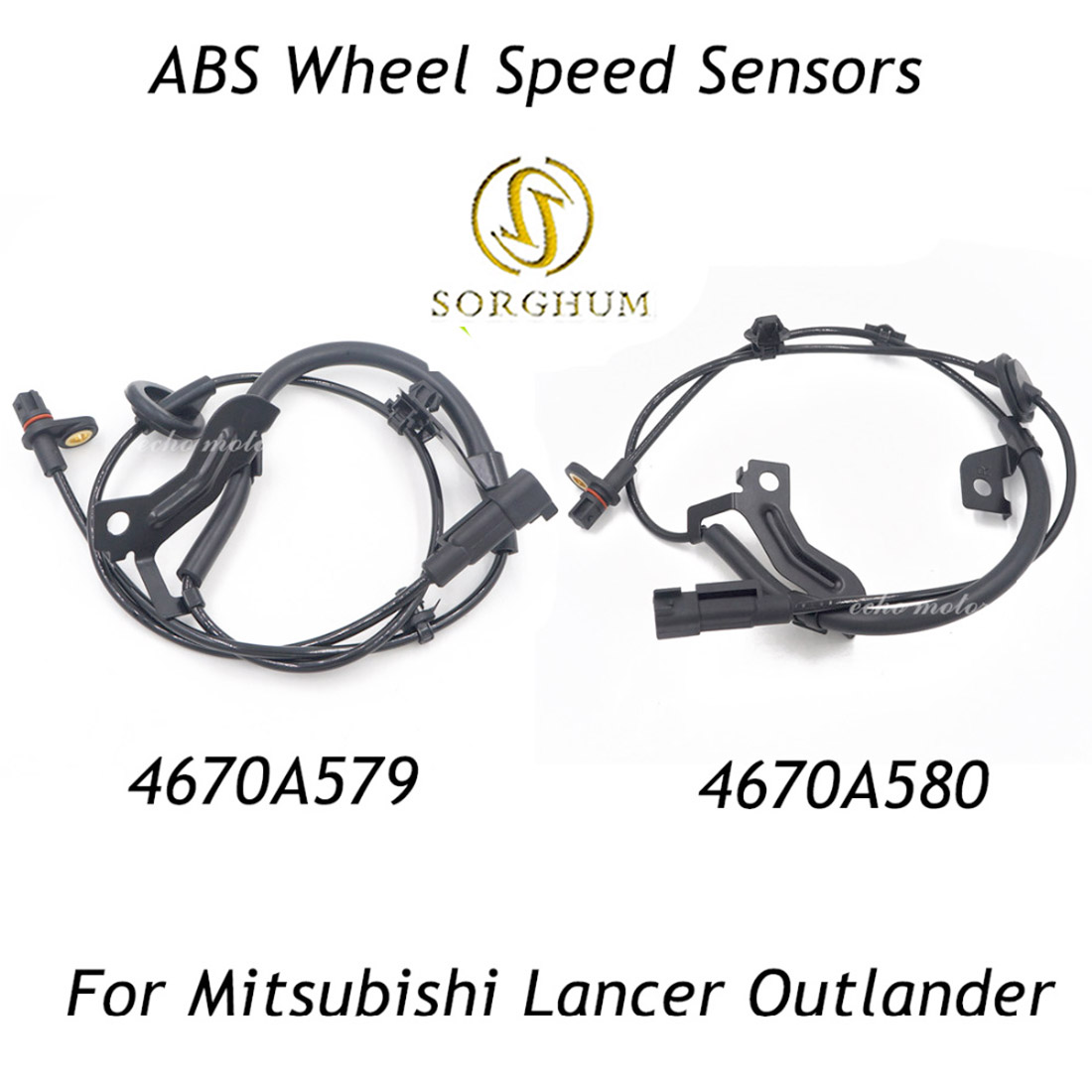 New Front Right /& Left ABS Wheel Speed Sensor for Mitsubishi Outlander Lancer