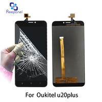 AAA Quality Screen For Oukitel U20 Plus LCD Screen Display And Digitizer Replacement Touch Screen For