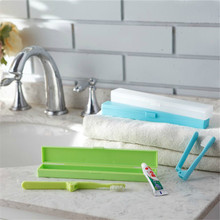 1PC Portable Toothbrush Protect Holder Travel Camping Storage Box Cover Bathroom Accessories