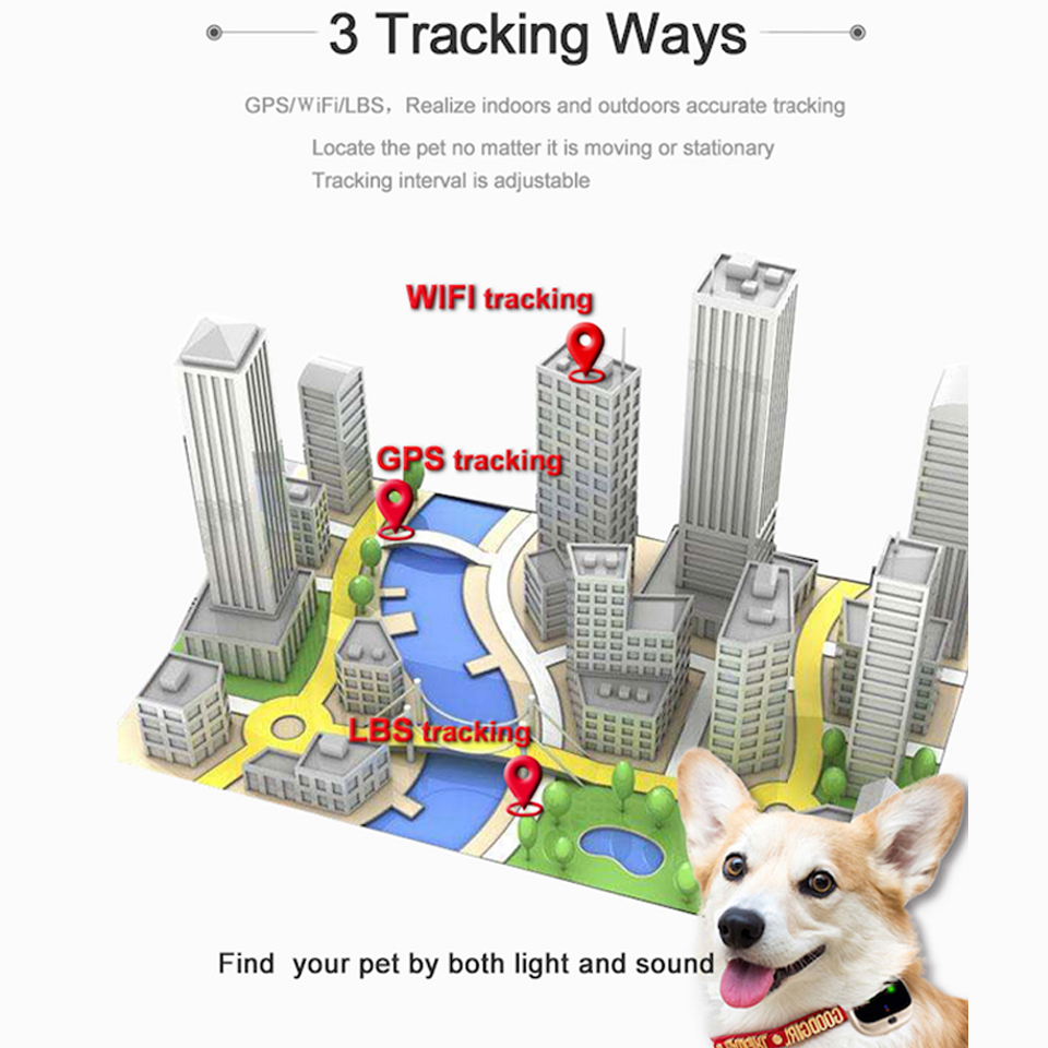 Image 4 - 4G Dog GPS Tracker V43 Voice monitor Pet GPS Tracker Real time 