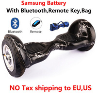 2016 Self Balancing Scooter 10 Inch Hoverboard 700W Samsung Battery Bluetooth Bag Remote Skateboard Smart Balance