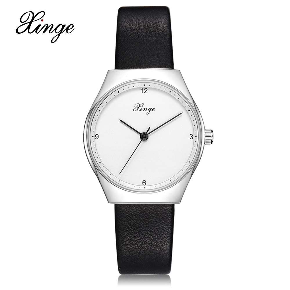 Xinge Brand Fashion Women Quartz Wrsit Watches Clock Leather Strap Business Watch Ladies Silver Luxury Female Sport Womens Watch xinge brand fashion women quartz wrsit watches clock leather strap business watch ladies silver luxury female sport womens watch