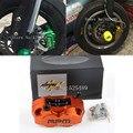 Rpm de marca accesorios de la motocicleta motocicleta cnc 200mm/220mm discos de freno pinzas de freno bomba universal para yamaha aerox bws rsz