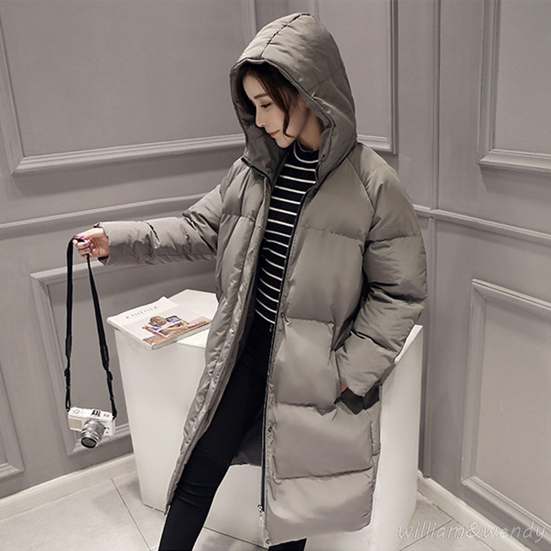 Woman Winter Warm Cloak Windcheater Hooded Cheap Fashion Grey Jacket Thicken Coat Palto Parka Ultra Long Korean Overcoat Manteau men ultra light large size thin parka jacket korean black cardigan china hoody winter overcoat slim warm military manteau homme
