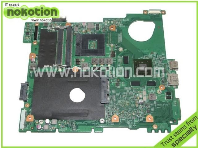 0 mwxpk madre del ordenador portátil para dell inspiron n5110 ddr3 con nvdia tarjeta de vídeo mainboard probó por completo garantía de 60 días