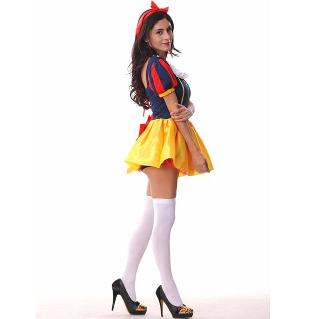 Adult snow white halloween costume dress women period costume gown vestidos medievais medieval sissy dress princess dress adults  sc 1 st  Aliexpress & Online Shop Adult snow white halloween costume dress women period ...