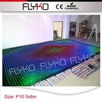 Светодиодный музыкальный плеер цвет изменить фары Бесплатная доставка низкая стоимость Большие размеры 5x8 м P10 занавес для дискотека, ночно