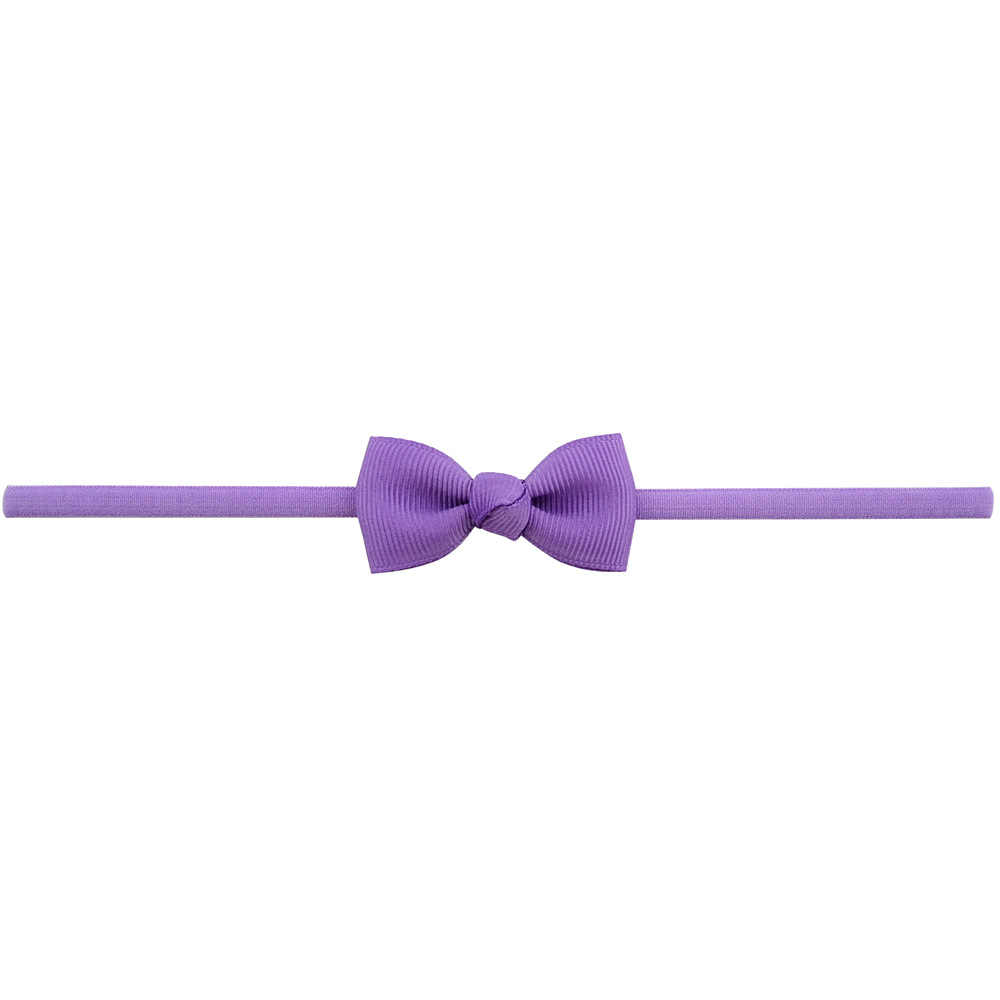 Baby Meisje Hoofdband Baby Haar Accessoires Doek Tie Bows Hoofddeksels Tiara Gift Peuters Bandage Lint Pasgeboren Headwrap