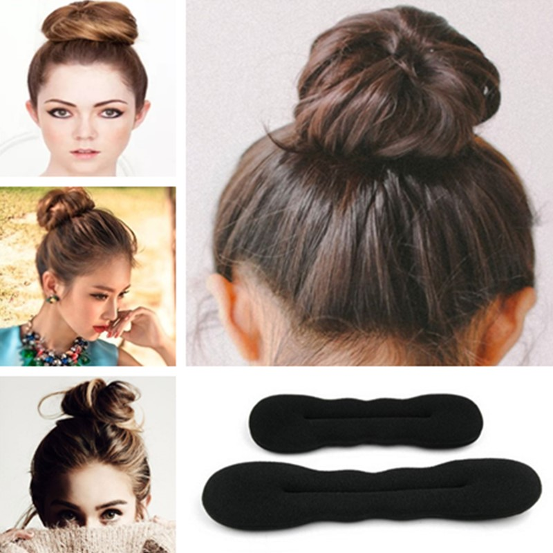 2pc//Set Styling Clip Bun Maker Hair French Braid Ponytail Tool Accessories Women