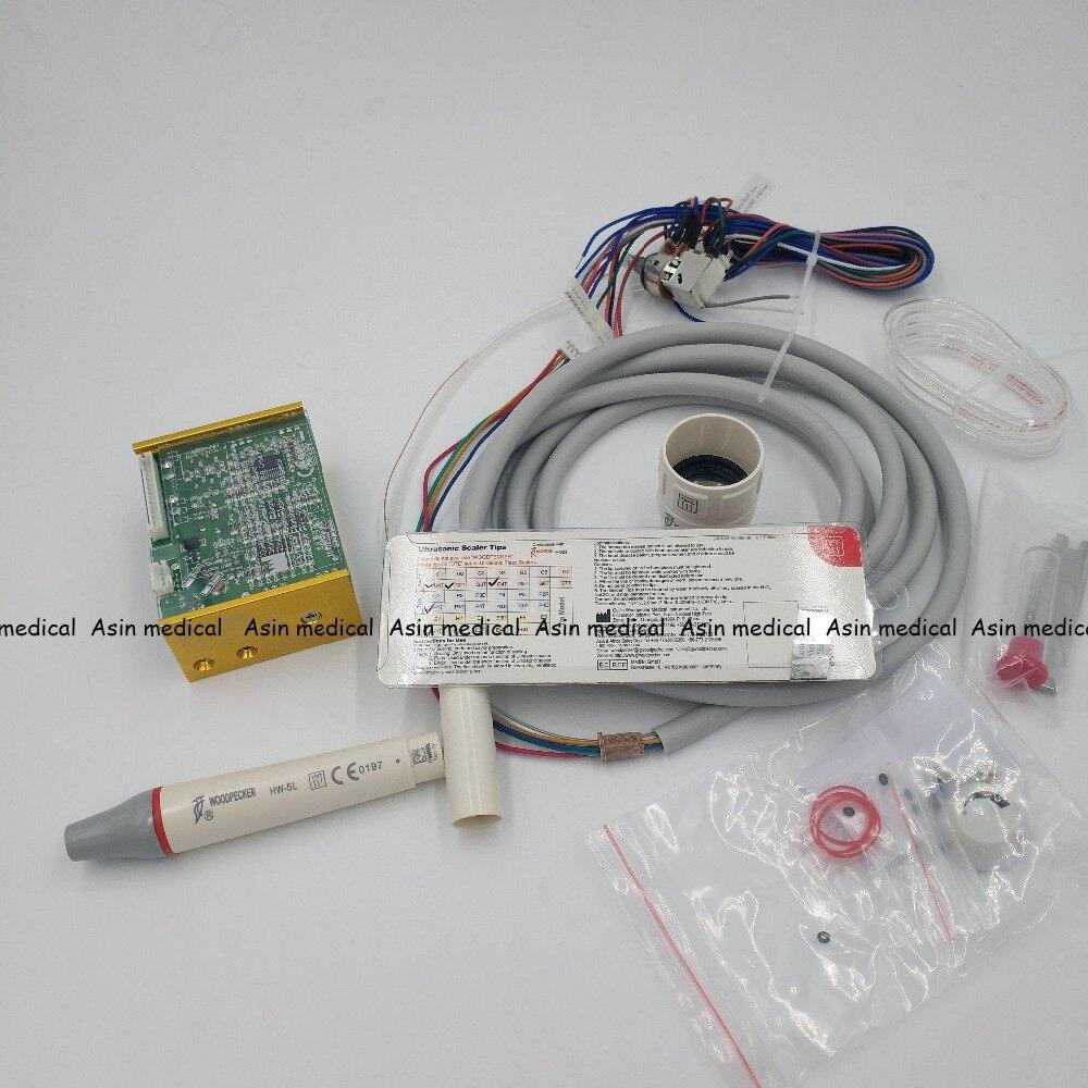 2019 один комплект N3 светодиодный Управление коробка + часть руки + наконечник для Встроенный Тип скалер дятел/EMS стоматологический стул чистк