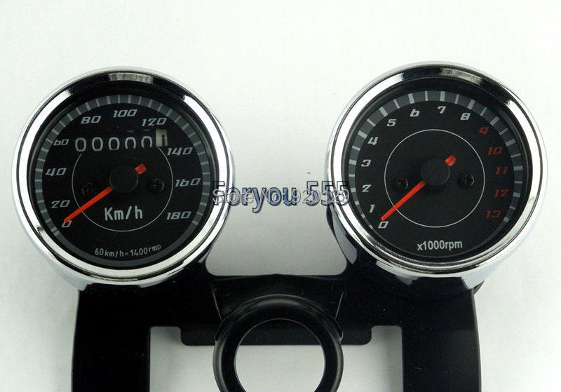 Мотоцикл спидометр одометр+ EFI Тахометр спидометр тахометр кронштейн крепление для Honda Yamaha Suzuki Kawasaki Универсальный