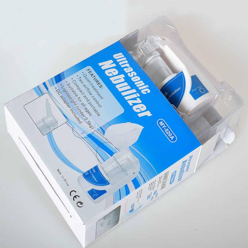 Медицинский Ингалятор для лечения астмы, медицинский Мини Ручной Автоматический ингалятор для детей и взрослых, портативный домашний ультразвуковой ингалятор