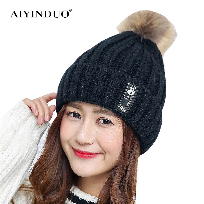 2017 Fashion Women Winter Cap Beanie Hats Crochet Knitting Beanies Casual Warm Hat Skullies Beanies skullies beanies winter woman fashion knitting hats with pompom beanies girls warm letter b cap