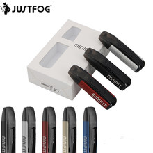 Original Justfog Minifit Pod Kit with 370mAh Battery Pod Vape and 1.5ml Clearomizer Tank Electronic Cigarette Vape Pen Vapeador(China)