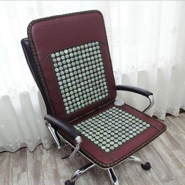 2016 Best Sale in Thailand Jade Heated Cushion Jade Health Care Cushion Germanium Stone Cushion Heat Seat Pad For Sale feuersteins reisen feuerstein in thailand