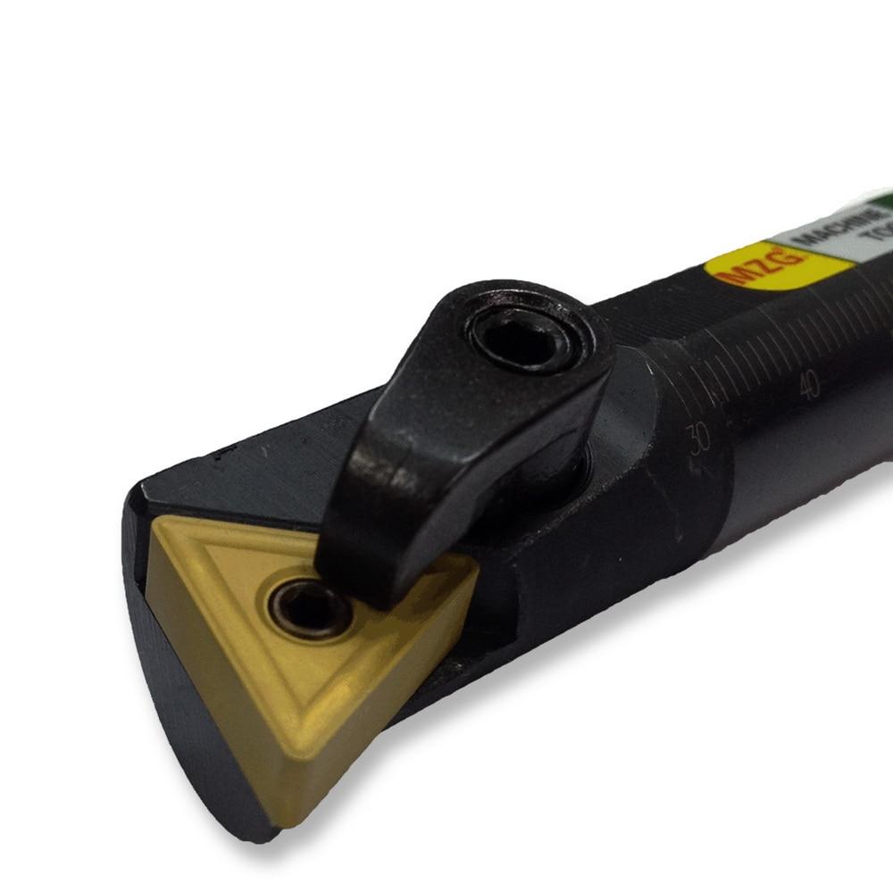 Aletler'ten Torna Takımı'de MZG 20mm 25mm S20Q MTQNR16 Üçgen Ekle Torna Makinesi Takım Tutucu Sıkma Dahili Sıkıcı Takım Tutucular CNC torna Kesici Çubuk title=
