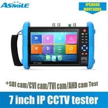 7 Inch Analog AHD SDI TVI CVI CCTV tester monitor TESTER IPC8600MOVTADHS