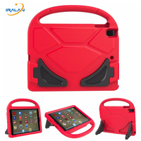 Kids Football Pattern Soft Foam Cover For Apple New Ipad 2017 9 7 A1822 EVA Shockproof