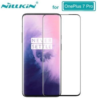 ea35789e40b NILLKIN increíble 3D CP + MAX completa Anti-explosión 9 H Protector de  pantalla de vidrio para OnePlus 7 Pro templado de vidrio