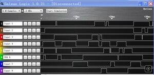Image 2 - ADF4350 ADF43501 PLL RF אות מקור תדר סינתיסייזר פיתוח לוח סינוס גל/CY7C68013A USB 2.0 לוח היגיון מנתח