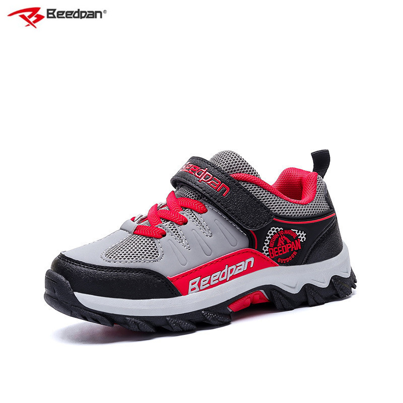 Beedpan Brand 2018 Boys Sport Shoes Sneakers Boys Running Shoes Autumn Kids Fashion Sneakers Non-slip Outdoor Hiking Shoes Kids xtep 2017 cool summer breathable baby sport shoes for boys kids children free shipping child non slip fashion sneakers