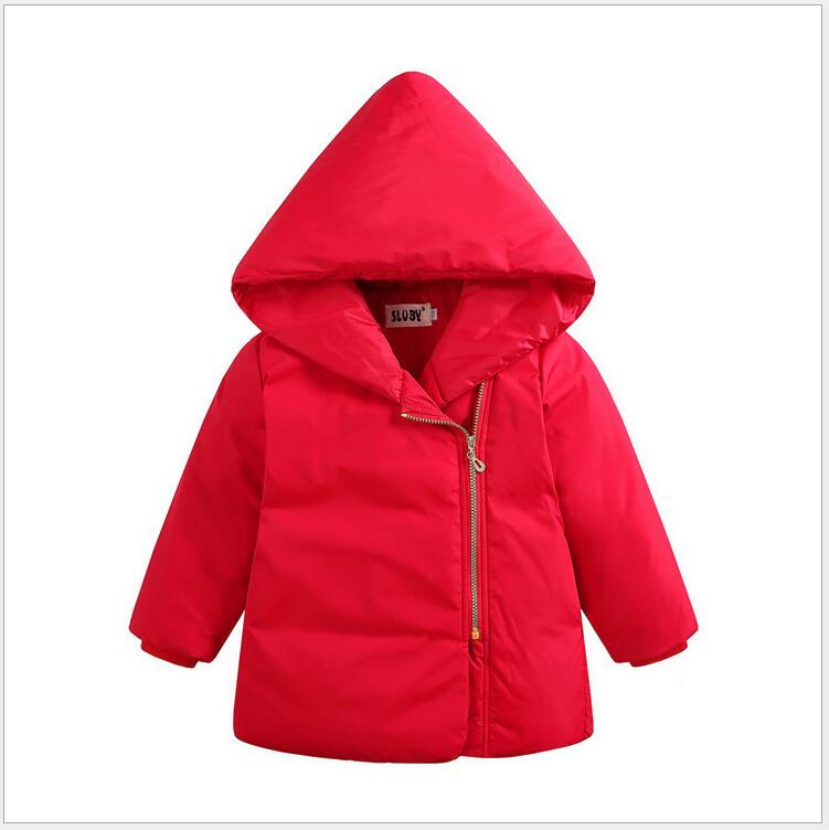 Подробнее о 4 Color Autumn Winter Kids Warm Down Jackets Children Clothing Kids Baby Boys Girls Coat Solid Hooded Outerwear Duck Down Jacket new 2017 baby boys children outerwear coat fashion kids jackets for boy girls winter jacket warm hooded children clothing