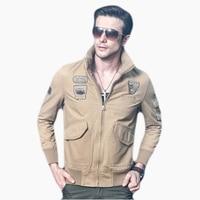 Eagle Tactical Coat Man Jacket Military Army Air Force 1 Mens Bomber Jackets Pilot Aeronautica Militare Men Clothes Men 60J0018