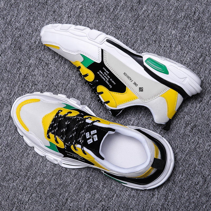 2019 New Fashion Mesh Men Comfortable Casual Shoes Male Lightweight Outdoor Flat Shoes Lac-Up Men Shoes Breathable Sneakers
