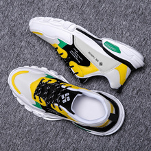 2019 New Fashion Mesh Men Comfortable Casual Shoes Male Lightweight Outdoor Flat Shoes Lac Up Men Shoes Breathable Sneakers