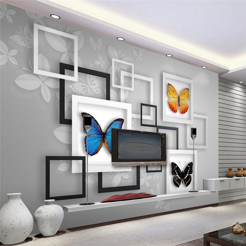 Online Get Cheap Behang Moderne Geometrische -Aliexpress.com ...