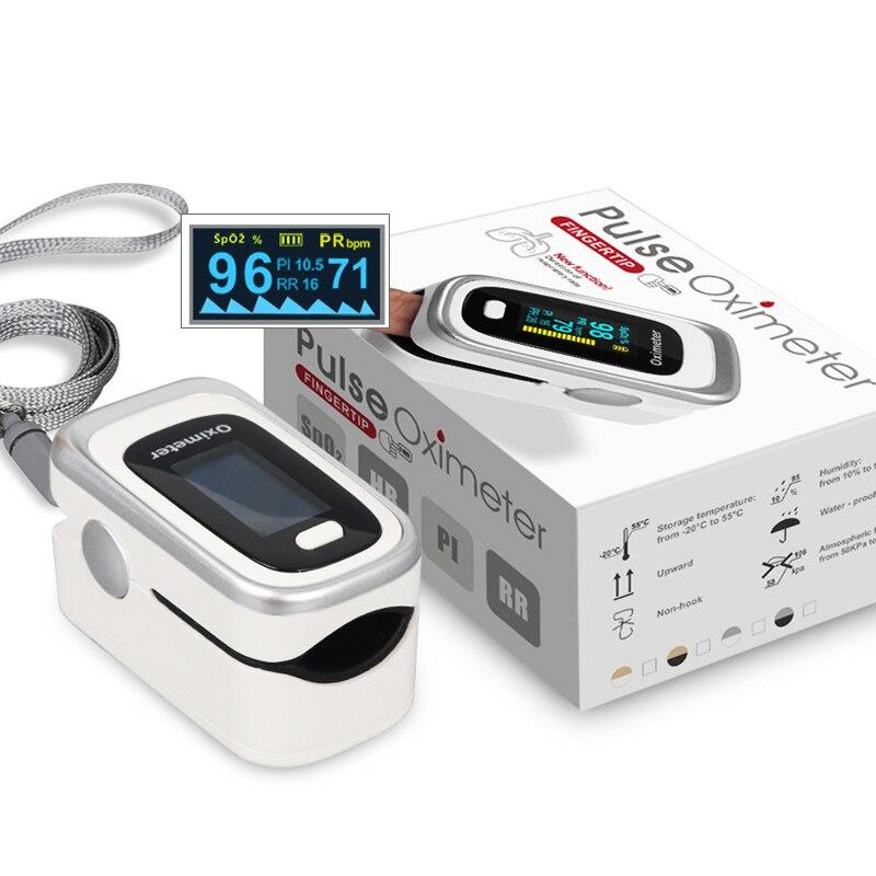 oxímetro de pulso spo2 digital monitor de