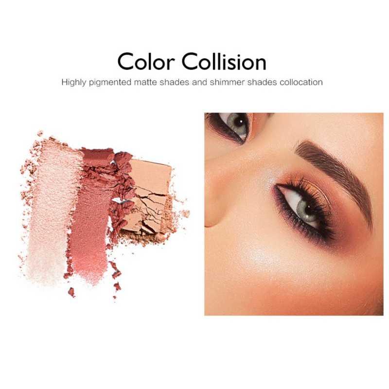 Лидер продаж 12-Цвет тени для век, палитра, Водонепроницаемый длительный легко Цвет блестящие матовые тени для век косметическая пудра для макияжа