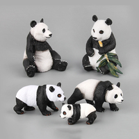 Novel and interesting Giant Panda Simulation Dolls Animal World Wildlife Animal Model Toys toys for children action figure