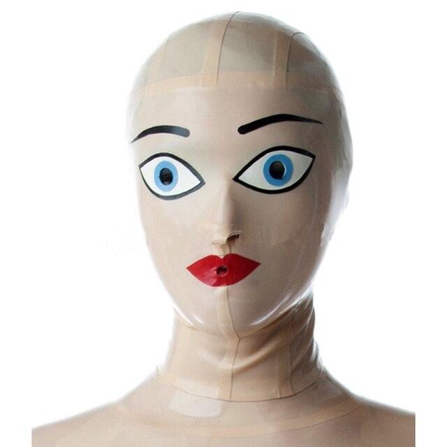Маски из латекса или резины кожи для секса фото