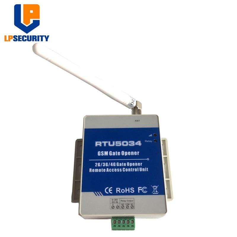 3G GSM Garage Door Opener Automatic Gate remote Control Board sliding door motor Control RTU5034 3G Optional to replace RTU5024