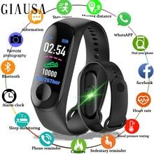 цена 2019 Smart Sport Bracelet Wristband Blood Pressure Heart Rate Monitor Pedometer Smart Watch men Women For Android iOS онлайн в 2017 году