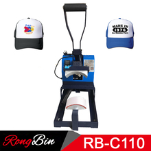 Cap Heat Press Machine Sublimation Heat Transfer Machine Cap Printing Dye Sublimation Heat Transfer Press Machine for Caps Hats