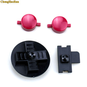 Image 3 - ChengHaoRan 1set Black RED Customs DIY Buttons Set Replacement for Gameboy Classic for GB DMG A B buttons D pad Button
