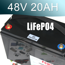 LiFePO4 Battery 48V 20AH Deep cyclic discharge Electric bike lifepo4 battery