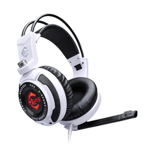 USB 7.1 Surround Sound Vibration Stereo LED Gaming Headsets Headphone with Mic for PC games