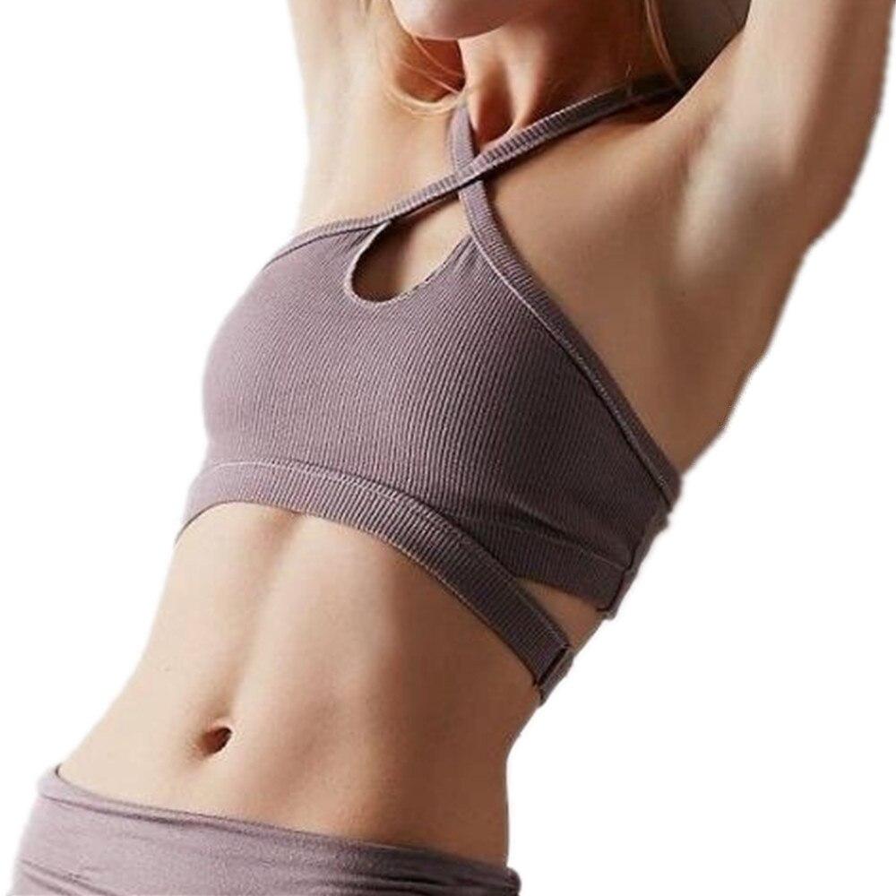 c32bec5717 Karyzon breathable sports bra women textured wicking halter yoga gym jpg  1000x1000 Wicking bra