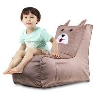 High Quality Memory Foam Ultra Soft Bean Bag Chair For Children Kids Chair&Sofa Totoro Children's Plush Chair Cartoon Seat Sofa